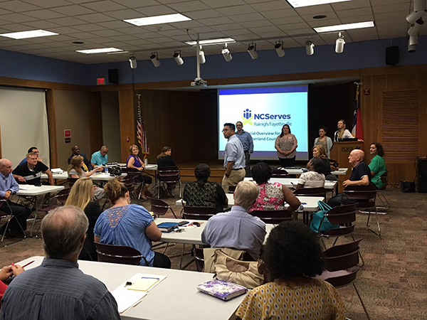 NCServes – Raleigh/Fayetteville Onboarding Event