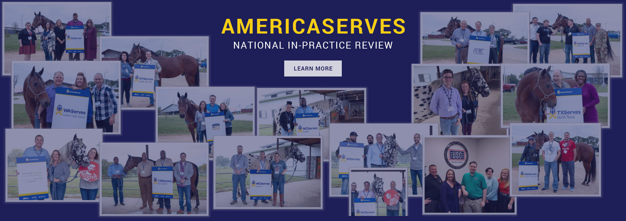 Learn More about the AmericaServes National In-Practice Review